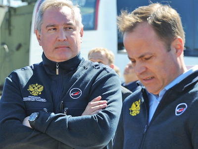 Rogozin: Space is the Next Sphere of Military Operations