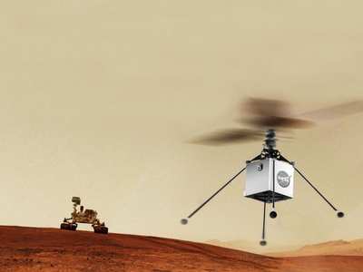 NASA Plans to Send a Rotorcraft to Mars