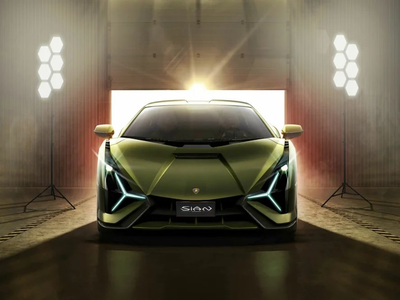 Lamborghini Introduced the First Hybrid