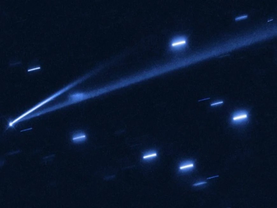 Asteroid Changed Color in Front of Astronomers for the First Time