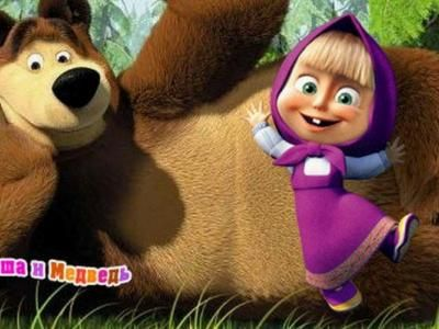 "The Animated Series ""Masha and the Bear"" will be Shown in the UK"