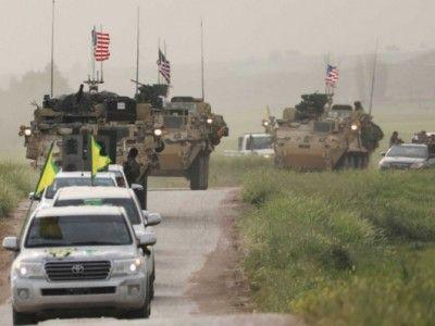 Турецкие и американские военные приступили к патрулированию зону безопасности в Сирии