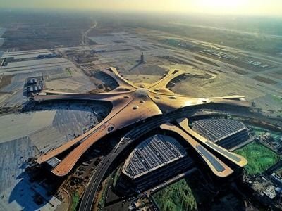 Daxing New World's Largest International Airport Opened in Beijing