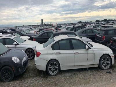 В Канаде обнаружили «кладбище» новых машин