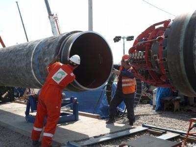 «Газпром» отчитался о ходе строительства «Северного потока – 2»