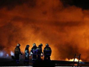 Пожар в Москве площадью в 1,5 тыс. кв. м. локализован