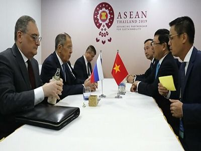 Lavrov: Relations Between Russia and Vietnam Aren't Influenced by External Environment