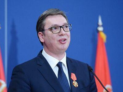 Поступила информация о состоянии здоровья госпитализированного президента Сербии
