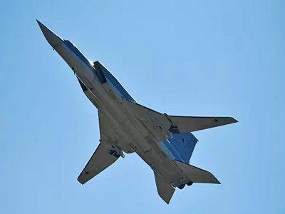 В Астраханской области у Ту-22 отказал двигатель во время полёта