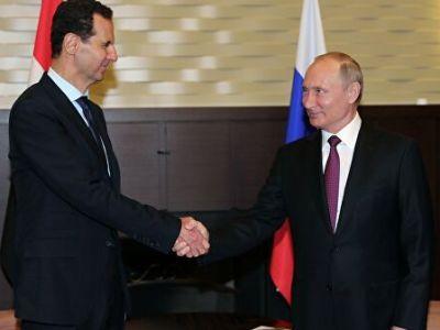 Putin Held Talks with al-Assad in Damascus