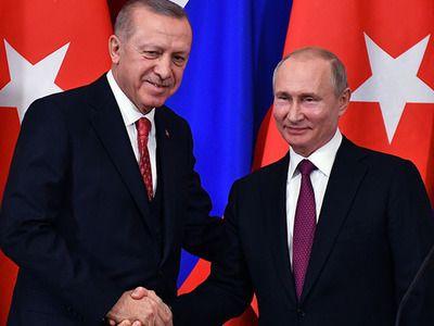 Лидеры России и Турции встретились в Стамбуле
