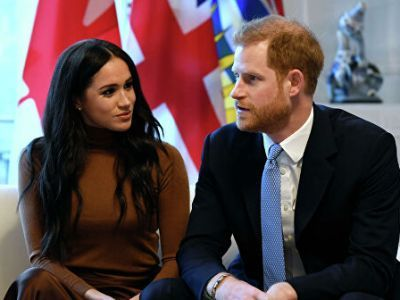 """Prince Harry and His Wife Decided to """"Step Back"""" from British Monarchy"""