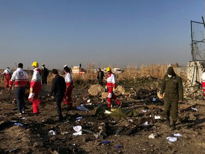 Canadian Experts Flew to Iran to Investigate Boeing Disaster
