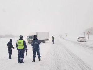 В Алтайском крае произошло ДТП с участием 15 машин