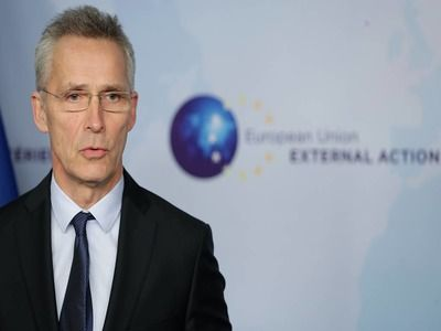 Stoltenberg Announced Ability of New NATO Drones to Look into the Territory of Russia