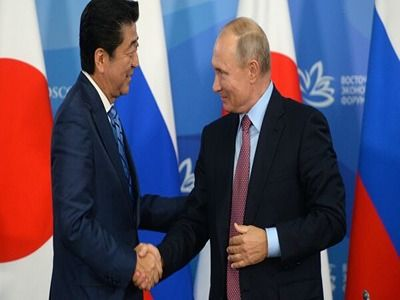 Abe: Development of Relations between Japan and RF Has Reached an Unprecedented Level