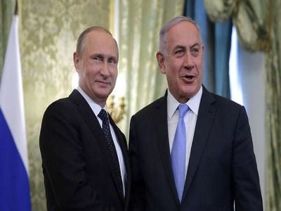Netanyahu: I Am Pleased to Welcome Putin at My Residence in Jerusalem