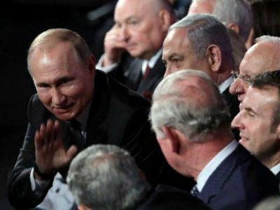 На форуме памяти Холокоста Путин не пожал руку вице-президенту США
