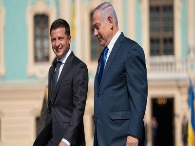 Israeli President Meets Zelensky