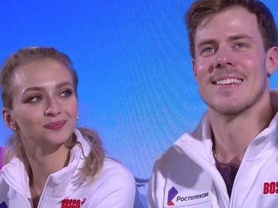 Фигуристы Синицина и Кацалапов стали чемпионами Европы в танцах на льду