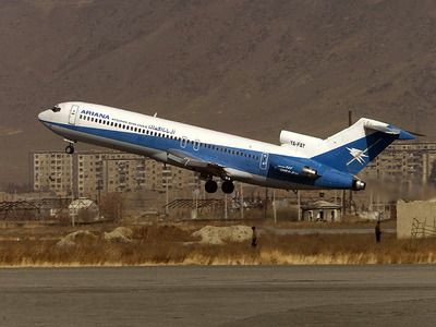 Passenger Plane Crashed in Afghanistan