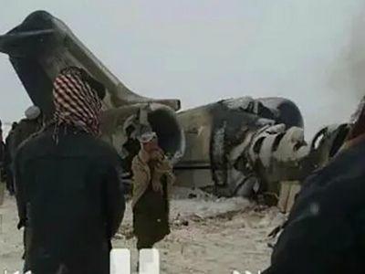 Американский самолёт, упавший в Афганистане, сбили представители «Талибан»