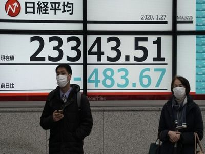 Stock Indices in Tokyo Fell Amid Aggravation of the Situation with Coronavirus