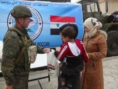 Russia Will Allocate Up to $ 20 Million for Food for Syria
