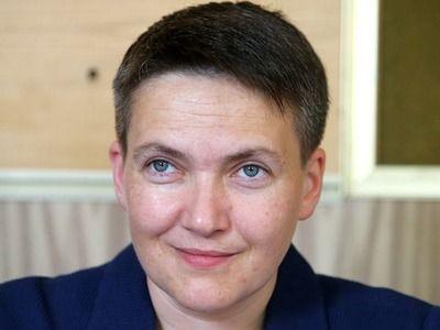"""Савченко сделала заявление, что президент Украины """"идёт не тем путём"""""""
