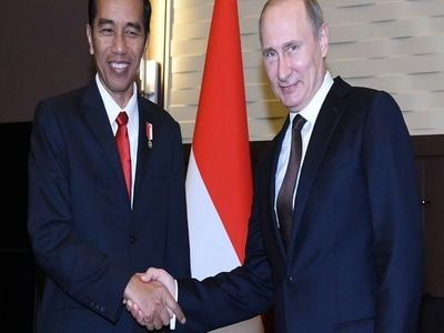 Putin Noted Mutually Beneficial Cooperation and Coordination of RF and Indonesia at UN