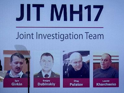 Netherlands Prosecutor's Office Formally Charged Four Defendants in MH17 Case