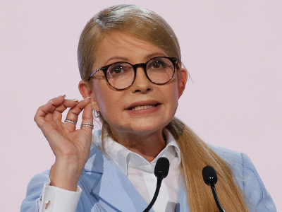 "Tymoshenko Demands to Admit that Ukraine Is ""Falling into Abyss"""