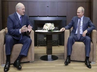 Putin and Lukashenko Hold Talks in Sochi