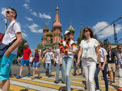 The Number of Foreign Tourists in the Russian Federation in 2019 Increased by 20%