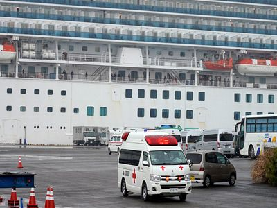 Embassy Announced the Dates of the Departure of Russians from Quarantine Ship in Japan