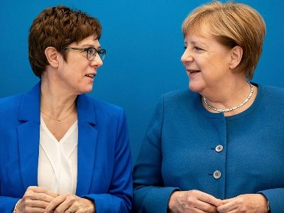 Merkel Refused to Interfere in the Election of Her New Successor