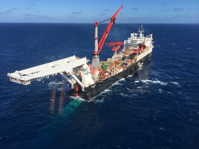 Gazprom and Wintershall Start Offshore Gas Production in the North Sea