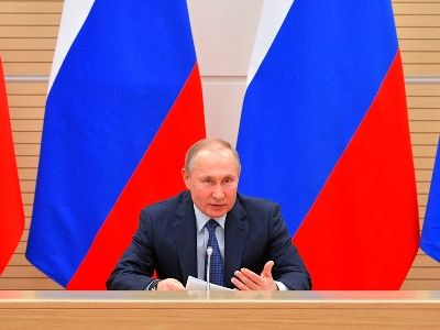 Putin Demands to Cleanse Strategic Sectors of Russian Economy of Crime