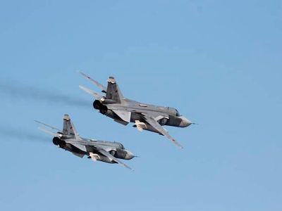 Russian Su-24 Bombers Hit Terrorists in Syria