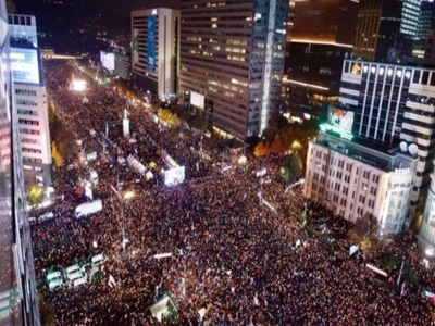 More Than 1 Million South Koreans Demand Resignation of the President due to Spread of Coronavirus