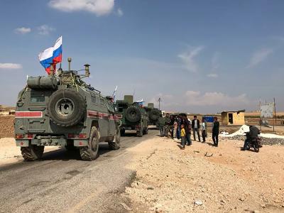 Russian Military Police Entered Saraqib