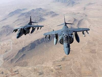 US Aviation Struck Taliban in Afghanistan