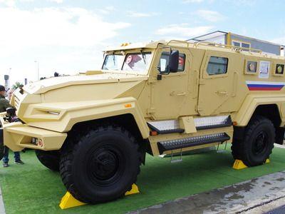"""Бронеавтомобиль """"ВПК-Урал"""" впервые продали в другую страну"""