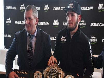 Nurmagomedov's Father Allowed the Transfer of Battle with Ferguson from New York to UAE