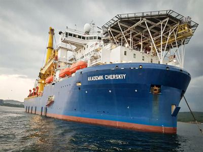 A Vessel Capable of Completing the Nord Stream 2 Sailed Towards Mozambique