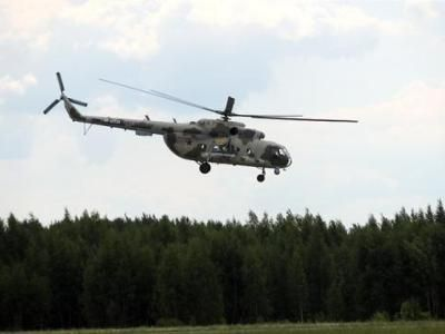 In Russia, a Helicopter Came under Fire