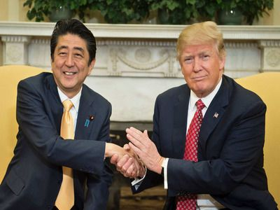 Abe and Trump Agreed to Work Closely on a Full-Fledged Olympic Games in Tokyo