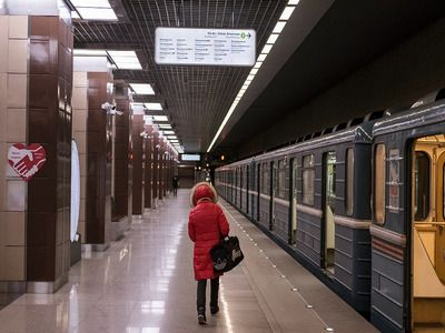 The Load on Moscow Metro Fell by 44% per Month