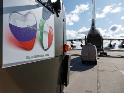 Embassy of Russia Protests La Stampa in Connection with Its Publications on Italian Assistance