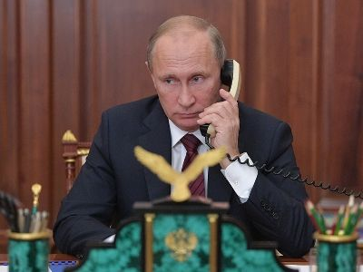 Putin and Trump Talked on the Phone